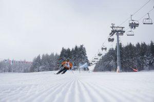 stacja narciarska zieleniec