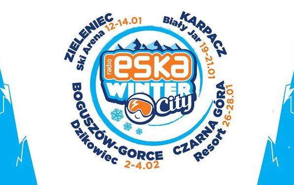 Zieleniec i Radio Eska zapraszają Snow City 2018!