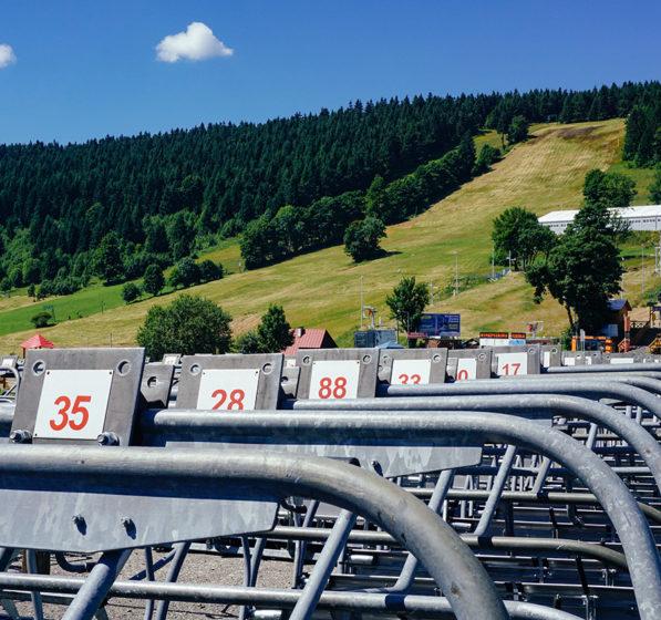 W Zieleńcu ruszyła budowa nowej kolei linowej
